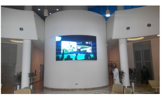 P4 Indoor Customized Curve LED Display