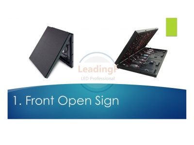 Outdoor Front Service Standard Digital LED Sign Board