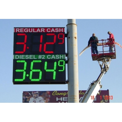 Gas Price Sign Board LED Screen