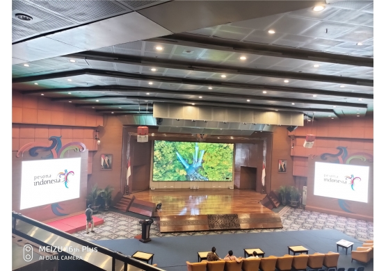 P4 Indoor Meeting Room LED Video Wall Indonesia
