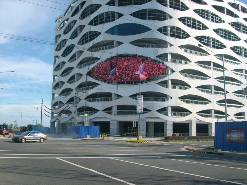 P16 Outdoor Customized Eye Shape Fixed Installation LED Display